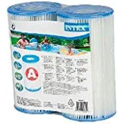INTEX Lot de 2 cartouches de Filtre A