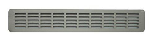 Rejilla de ventilación de aluminio anodizado para encimera de cocina, Encimera de...
