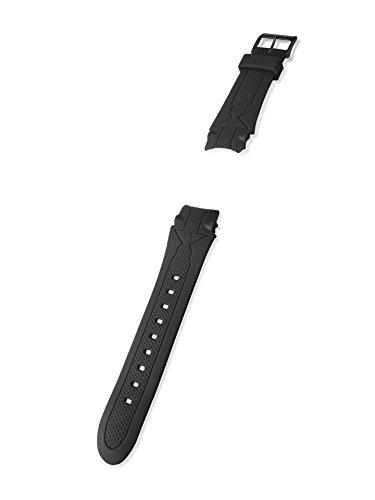 KHS Kunststoffband | Sentinel Schwarz, Ersatzarmband, KHS.EBSEB.24
