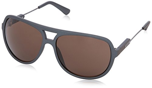 Hogan HO0031 Wayfarer Sonnenbrille, 86E Light Blue / Metalic Brown