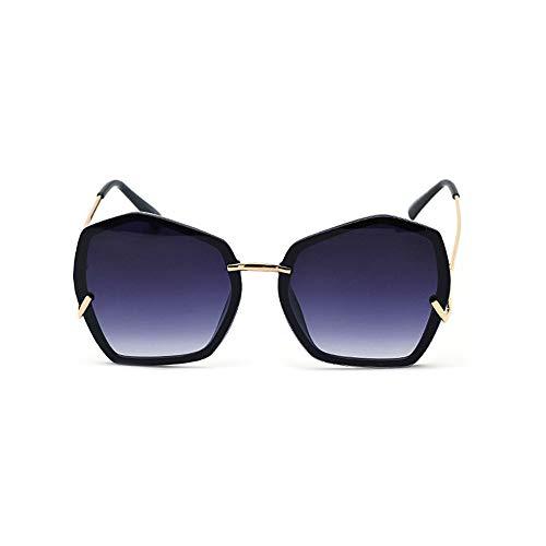 WULE-Sunglasses Unisex Damen-Sonnenbrillen einkaufen Super polarisierte Männer Urlaub Unisex Golf Sonnenbrille unregelmäßige Form Brille (Farbe : C6, Größe : Free)