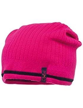 MaxiMo - Strickbeanie Middle, Rippe, Cappello da bambine e ragazze