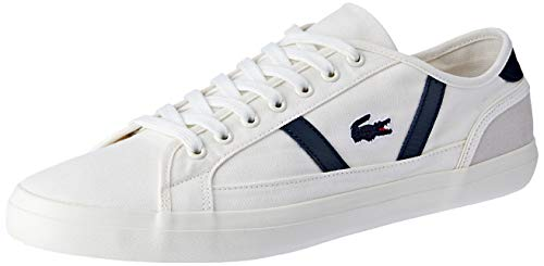 Lacoste Sideline 119 1 CMA, Zapatillas para Hombre, Marfil (Off Wht/Nvy Wn1),...