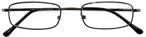 I NEED YOU Lesebrille Club M / +3.25 Dioptrien/Braun, 1er Pack