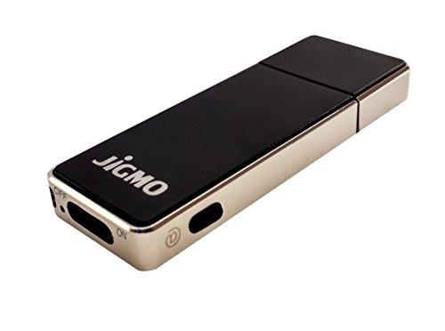 Grabadora de Sonido Alta Calidad – Con Indicador De La Batería – Voz Activada - por JiGMO [Plata], Datos de 8 GB / 36 horas de audio, 512 kbps / Dictafono con Grabaciones Claras / con 2 Acolladores y ebook / Para Estudiantes, Profesionales, Músicos, Escri