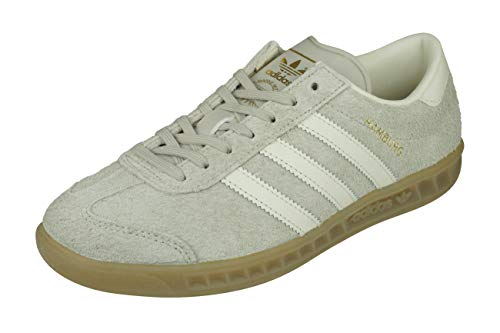 adidas Originals Hamburg Damen Lauftrainer/Schuhe-Brown-38