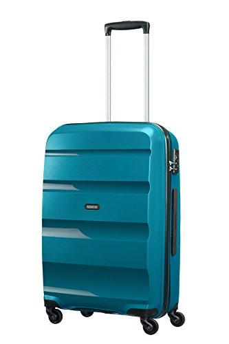 3162X8QQzcL - American Tourister Bon Air Spinner M Maletas y trolleys, 66 cm, 53 L, Azul (Azul)