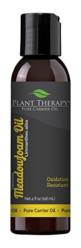 Plant Therapy Meadowfoam Carrier Oil 4 fl. oz. Base Oil for Aromatherapy, Essential Oil or Massage use