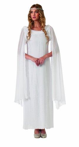 Rubbies France Hobbit Galadriel Kostüm Kleid Kopfschmuck Herr der Ringe - Herr Der Ringe Hobbit Kostüm