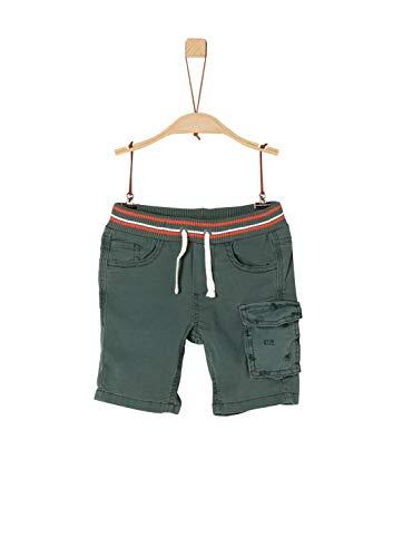 s.Oliver RED Label Junior Jungen Bermuda mit Cargo-Tasche Khaki 134.REG -