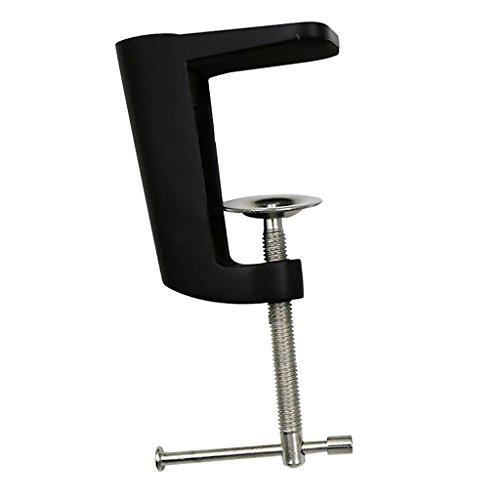 Sharplace Verstellbar Tischklemme Klemme für tischlampe Schreibtisch Lampe Zubehör - Schwarz -