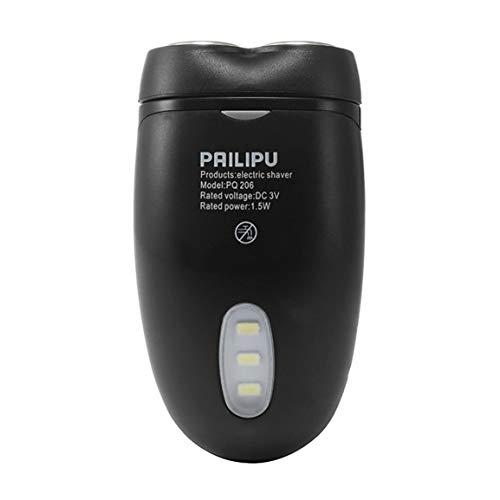 Männer Akku-Elektrorasierer Rasiermesser Barthaarschneider Batteriebetriebene Multifunktions-Doppelkopf mit LED-Beleuchtung fghfhfgjdfj -