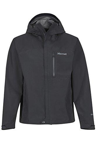 Marmot Herren Minimalist Jacket Hardshell Regenjacke, Black, L -
