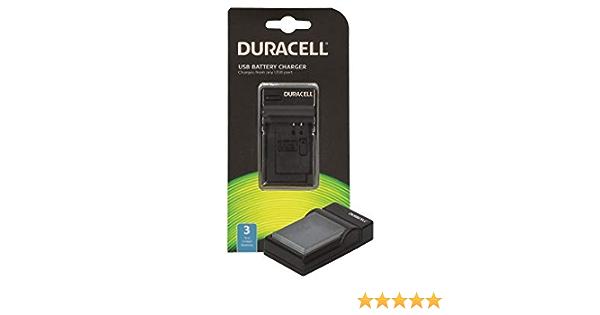 Duracell Drc5915 Ladegerät Mit Usb Kabel Kamera