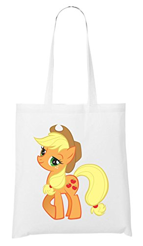 Applejack Pony Sac Blanc