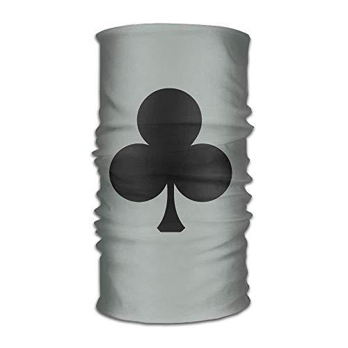 Unisex Poker Sign Game Multifunction Changed Headwear Headscarf Bandanas - Pacific Twill Shirt