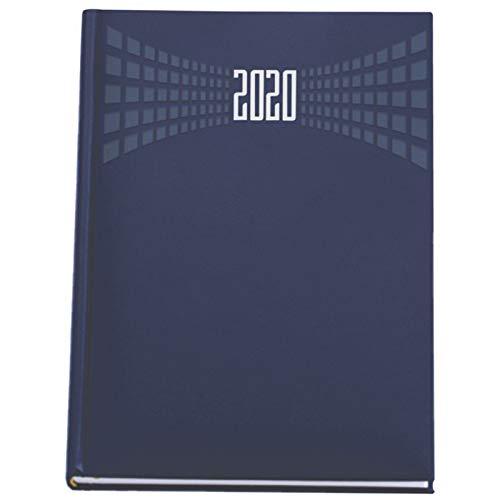 Agenda giornaliera 2020 Blu formato A4 21x30 cm sabato e domenica separati matra' appuntamenti