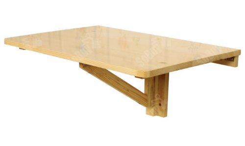 Sobuy® tavolo pieghevole a muro,scrivanie, tavolo per computer,tavolo da cucina,senza sedia, fwt03-n,it