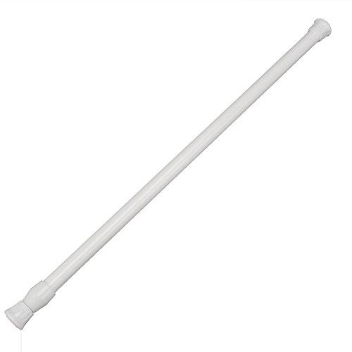 Duschvorhang-stange Handtuchhalter (Teleskop Duschstange Duschvorhangstange Brausestange Brausehalter Verstellbare 60-110cm)