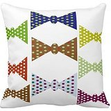 Bowl Of Grapes In Red Orange Blue And Green Pillow Case -