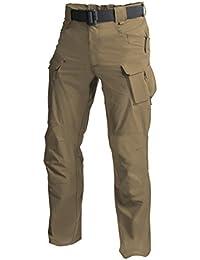 Helikon Hommes Outdoor Tactique Pantalon Boue Brune