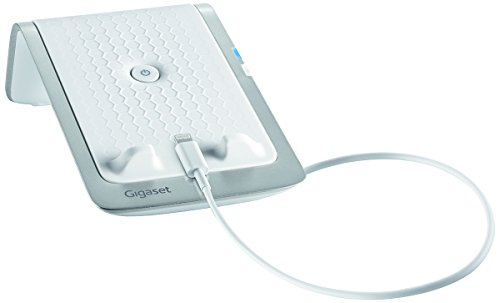Gigaset Handy Halterung/Smartphone Aufladestation mit Anrufweiterleitung; für Apple (IOS)