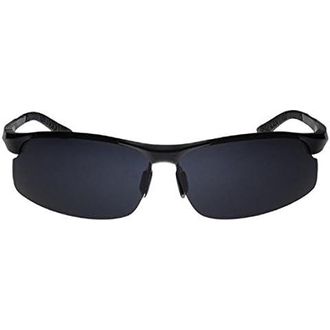 ZHEN Aviazione militare uomo occhiali da sole polarizzati di alluminio-magnesio , 1