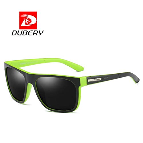 TAOtTAO DUBERY Herren Polarisierte Sonnenbrille Outdoor Driving Männer Frauen Sportbrillen Neu(C)