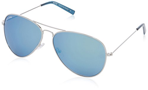 Michael Kors M3005S Kennedy Flash Aviator Sonnenbrille, 08B Gunmetal