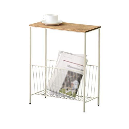 BZ-ZK SZQ Sofa Beistelltisch, Rechteck Speicher Eisen Kunst Kreative Tabelle Wohnzimmer Nachttisch...