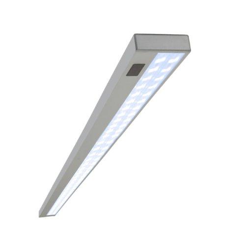 Highlights-Beleuchtungssysteme - Lampada da incasso a LED, 5W, in alluminio pregiato, luce bianca fredda, incluso trasformatore con interruttore a sensore