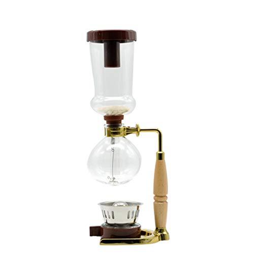 EVERAIE Percoladores de café Sifón y café para la casa y el café Manual Electrodomésticos Cocina...