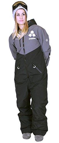 Oneskee Mark III Frauen Skianzug schwarz