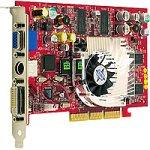 MSI MS-8870 GeForce4 Ti4200 VTD DVI TV-Out V-In Ret Grafikkarte AGP 64MB GeForce4 Ti 4200 DVI TV-Out Video-In