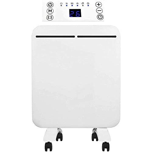 3163dCuR5OL. SS500  - MYLEK Electric Panel Heater 500w - Low Energy - Wall Mounted / Free Standing - Energy Efficient, Open Window Detection, LED Display, Adjustable Thermostat, 7 Day Timer, Anti Frost Function, Bathroom IP24 Rated, Silent Operation
