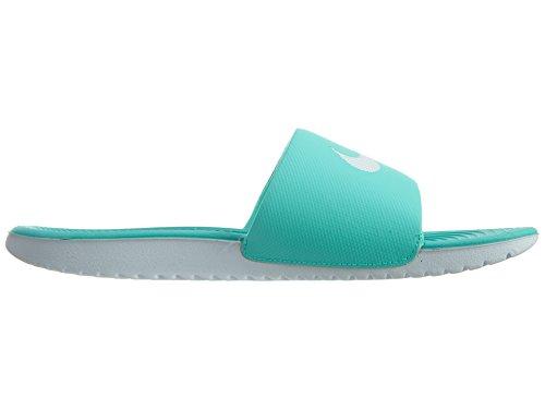 Nike Herren Air Moc Tech Fleece Turnschuhe Türkis Weiß