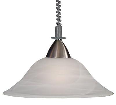 Pendelleuchte Deckenleuchte Pendellampe Lampe Licht Leuchte Zugpendelleuchte MALAGA von etc-shop auf Lampenhans.de