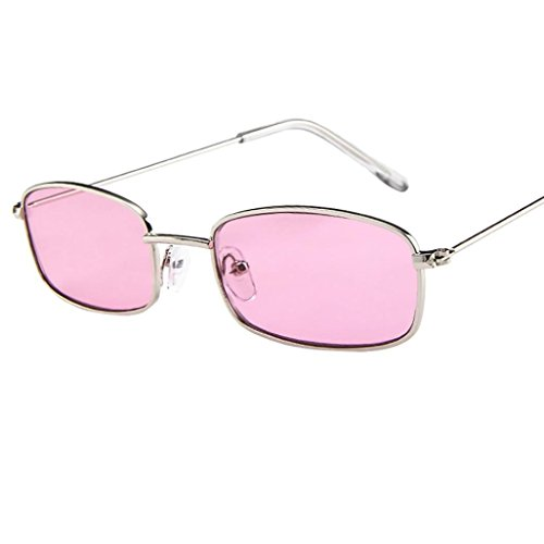 Dragon868 Vintage Brille Square Shades kleine rechteckige Sonnenbrille Rahmen (H)
