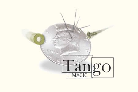 Magnetic Half Dollar Coin (w/DVD)(D0025)