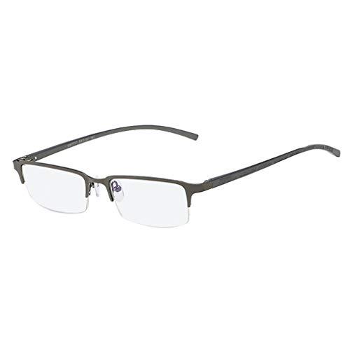 iCerber sonnenbrillen Chic Lässig Einzigartig Unisex Stylish Square Nicht verschreibungspflichtige Brillen Brillen Clear Lens Eyewear UV 400 ❀❀2019 Neu❀❀(Braun)