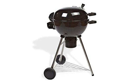 Grillstream 57cm Deluxe Kettle Charcoal Barbecue BBQ � Low Fat Cooking - As Seen On Dragons Den