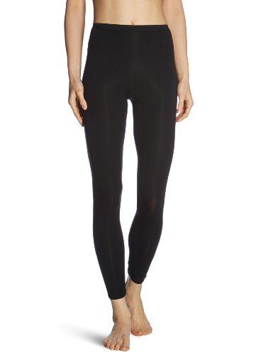 Schiesser Damen Hose Lang Unterhose, Schwarz (000-schwarz), 42 (XL)