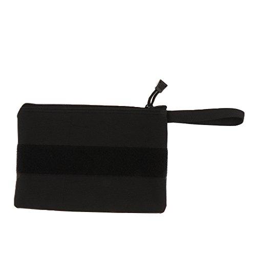 Sharplace Handgelenktasche Tasche für Männer und Damen Handtasche Outdoor Sport - Schwarz