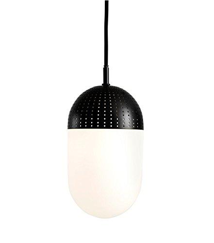 Woud - Dot Pendelleuchte - schwarz - L - Rikke Frost - Design - Hängeleuchte - Deckenleuchte - Pendelleuchte - Wohnzimmerleuchte Frost Dot