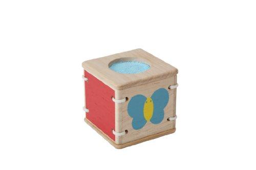 Imagen principal de Plan Toys 1355235 - Cubo de aprendizaje diseño Mariposa