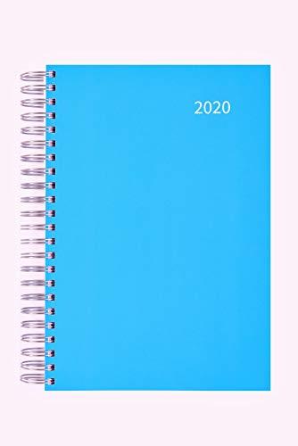 2020 großer Bürokalender KARIBIKBLAU - 1 Tag = 1 DIN A4-Seite