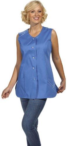 LEIBER Hosenkasack - Damen-Kasack - ohne Arm - caribic-blau - Größe: 42