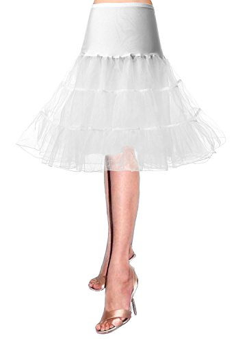 50er Petticoat Unterrock Jahre krinoline hoopless Kleid tutu Petticoat kleid 50s tüllrock kinder rockabilly net petticoat skirt Crinoline Vintage Retro Mehreren Farben Röcke Swing pin up Kleid
