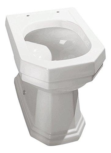 Sanitop-Wingenroth 56694 0 WC- Kombi Athenas Tiefspüler, Kombination ohne Spülkasten -