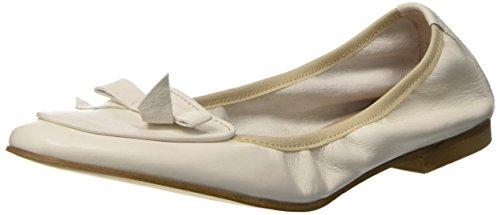 1960Travel 21565, Ballerines femme Bianco Sporco (Panna)